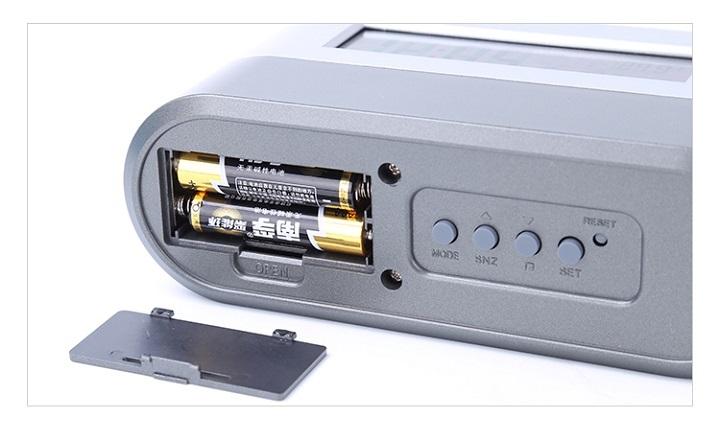 Hộp đựng bút kiêm đồng hồ để bàn V3 (Tặng kèm quạt mini cắm cổng USB vỏ nhựa giao màu ngẫu nhiên) 4