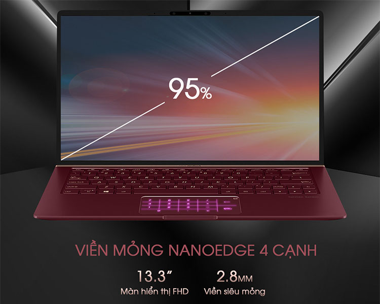 Laptop Asus Zenbook 13 UX333FA-A4184T Core i5-8265U/Win10/Numpad (13.3 FHD)