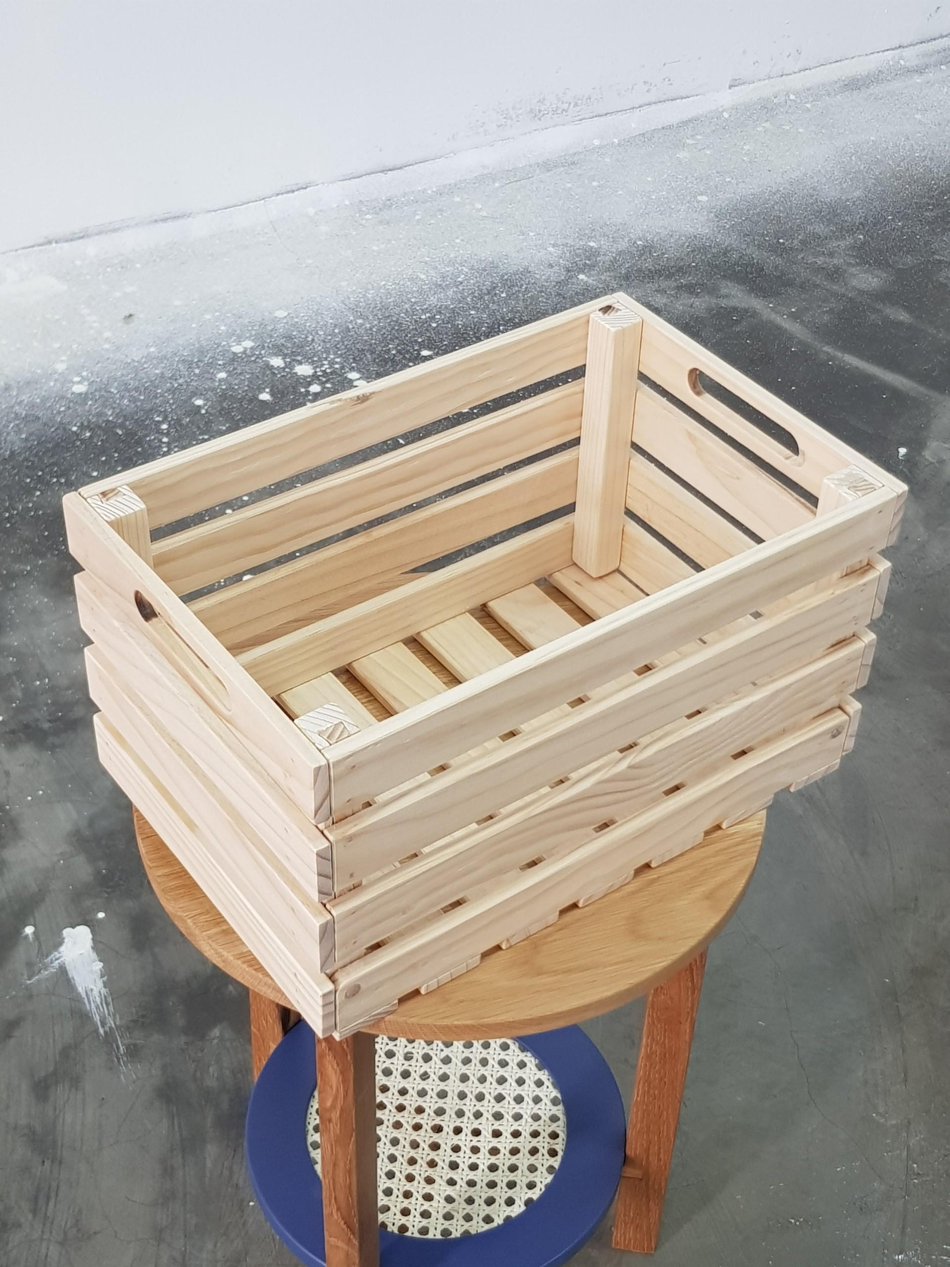 Thùng Box Pallet Đa Năng Gấp Gọn Thông MInh Gỗ Thông Chile Nhập - UltraCrate