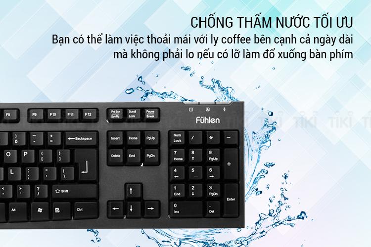 Bàn Phím Game Fuhlen L411 - Hàng Chính Hãng