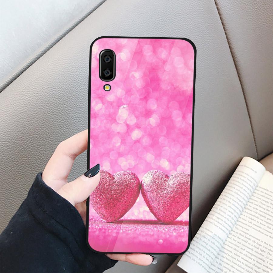 Ốp điện thoại dành cho máy Samsung Galaxy A70 - trái tim tình yêu MS LOVE027