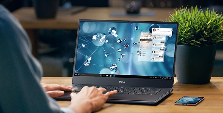 Laptop Dell Vostro 5490 V4I5106W (Core 5-10210U/ 8GB DDR4 2666MHz/ 256GB M.2 PCIe NVMe/ 14 FHD/ Win10) - Hàng Chính Hiệu