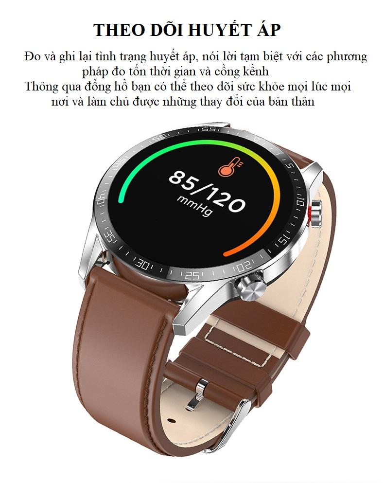 Đồng hồ theo dõi Sức khỏe cao cấp 1.3 -Theo dõi và nhắc nhở vận động 8