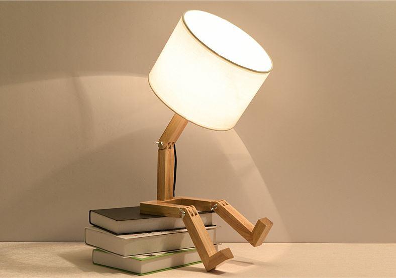 Đèn ngủ để bàn GOCI độc đáo dùng cho trang trí nội thất - Đèn ngủ Thương hiệu Goldseee | WebSoSanh.co