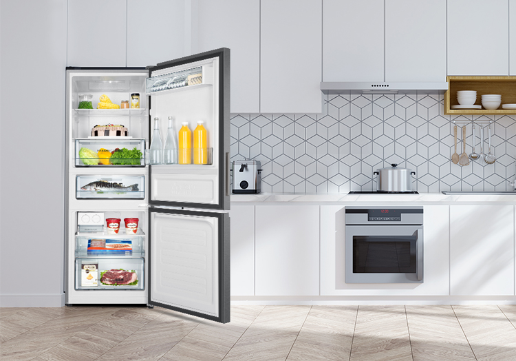 Tủ Lạnh Inverter Aqua AQR-IW378EB-SW (324L)