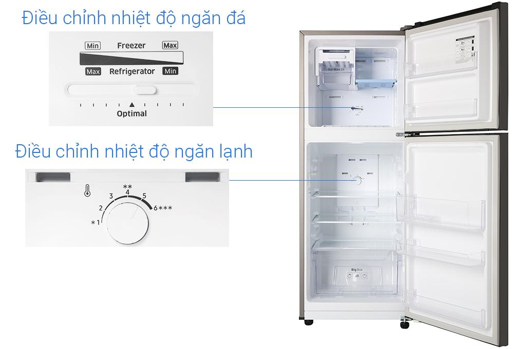 Tủ Lạnh Inverter Samsung RT20HAR8DBU/SV (208L) - Hàng Chính Hãng - Chỉ Giao tại HCM