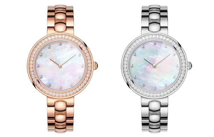 Xiaomi TwentySeventeen Crystal Quartz Wrist Watch for Women 64 Artificial Gem Wristwatch Ladies Fashion Valentine's Gift