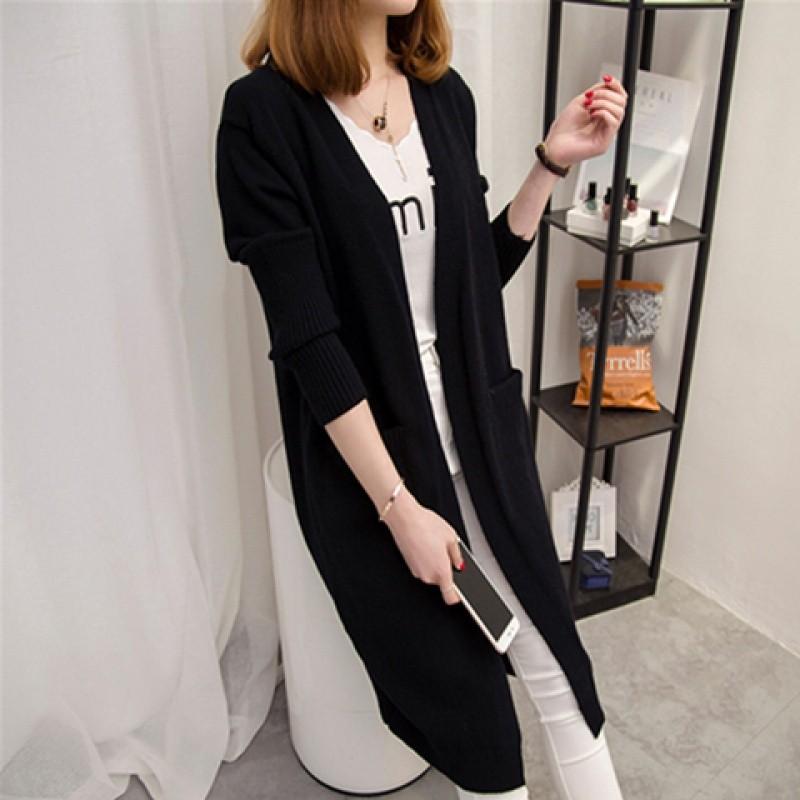 Áo len nữ cardigan dáng dài phong cách trẻ trung 4