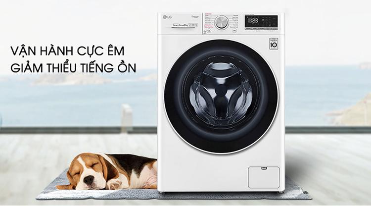 Máy giặt LG Inverter 8.5 kg FV1408S4W - Chỉ giao HCM
