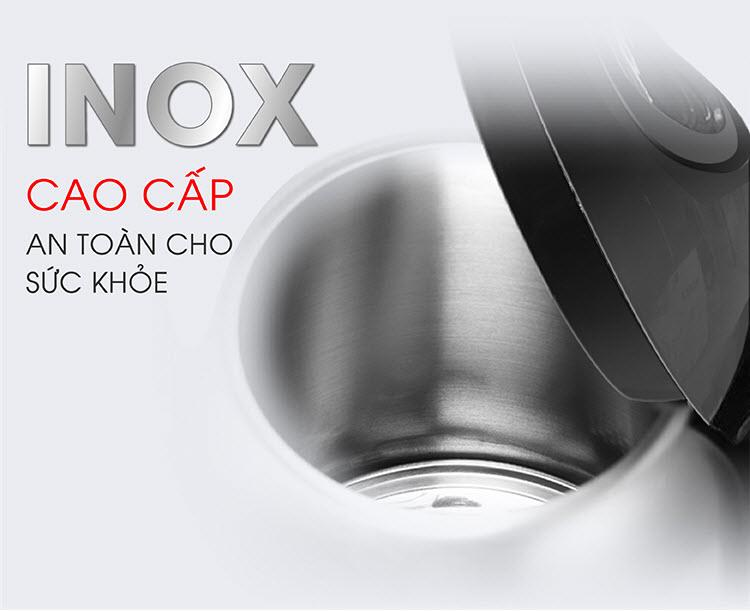 Ấm siêu tốc inox SATO ST688 1.8L