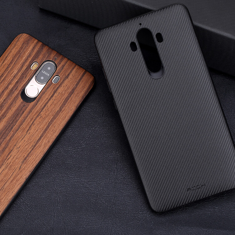 Ốp Lưng Silicon Cho Huawei Mate 9 - Đen