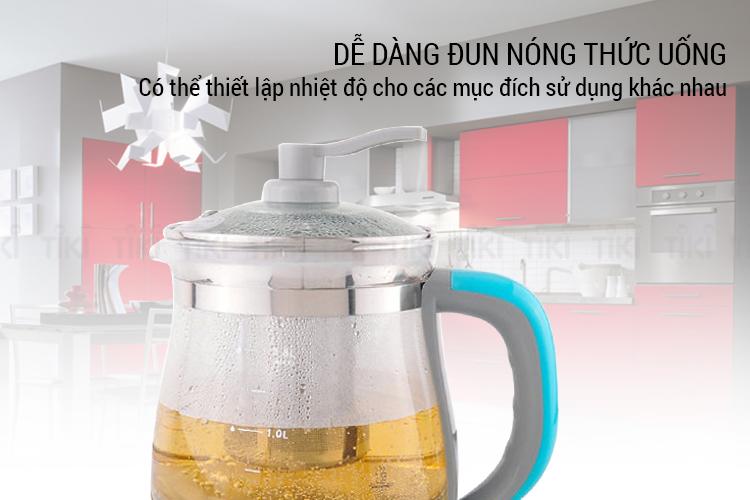 Ấm đun trà điện đa năng Daewoo DEK-MA980 (1.8L) - Hàng chính hãng