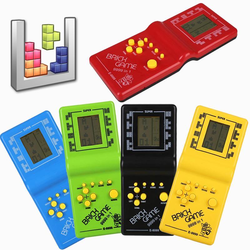 Máy game huyền thoại cầm tay Brick Game - màu giao ngẫu nhiên 1