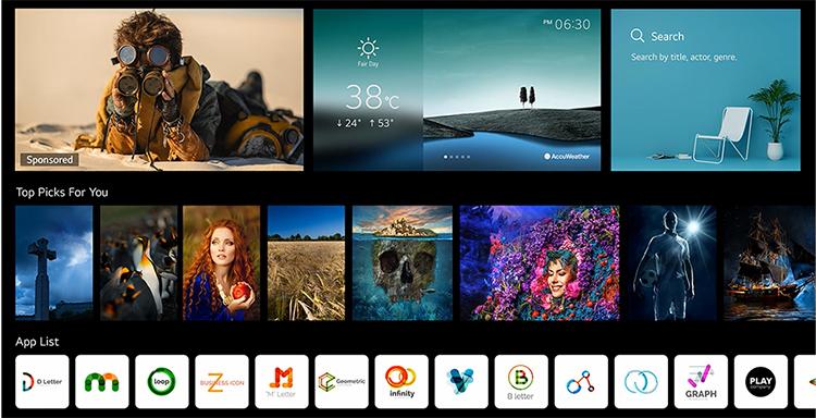 Smart Tivi OLED LG 4K 55 inch OLED55G1PTA Mới 2021