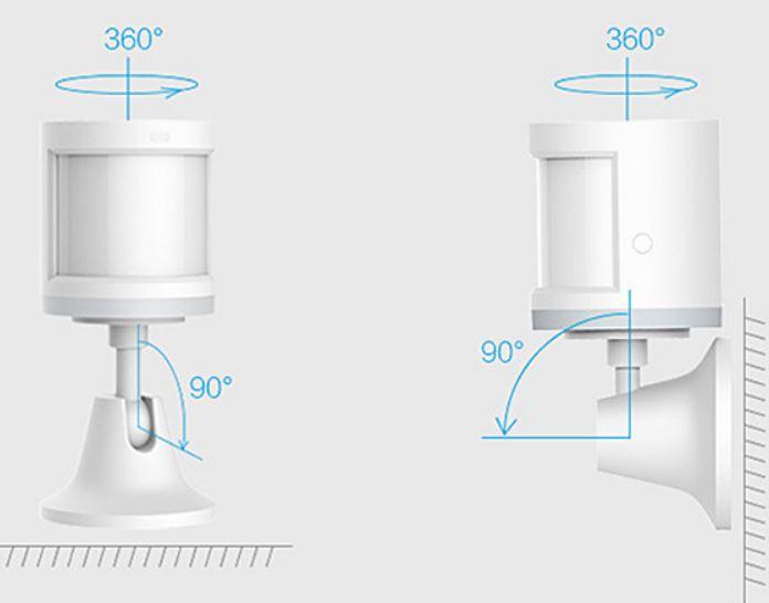 Thiết Bị Nhà Thông Minh Cảm biến Cơ Thể Người Xiaomi Smart Home Aqara (Khoảng cách 7m)-Hàng Chính Hãng