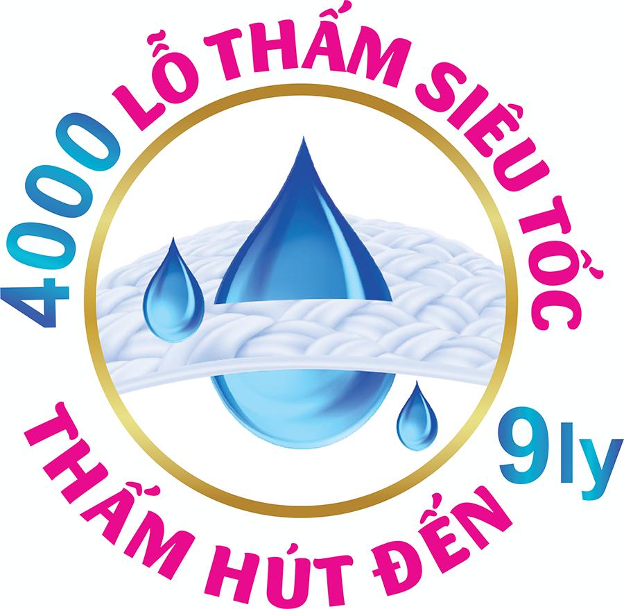 Tã Quần Siêu Mỏng UniDry Ultrathin Gói Đại size L54 (54 miếng) - Tặng 1 Gói Khăn Ướt UniFresh VitaminE 80M