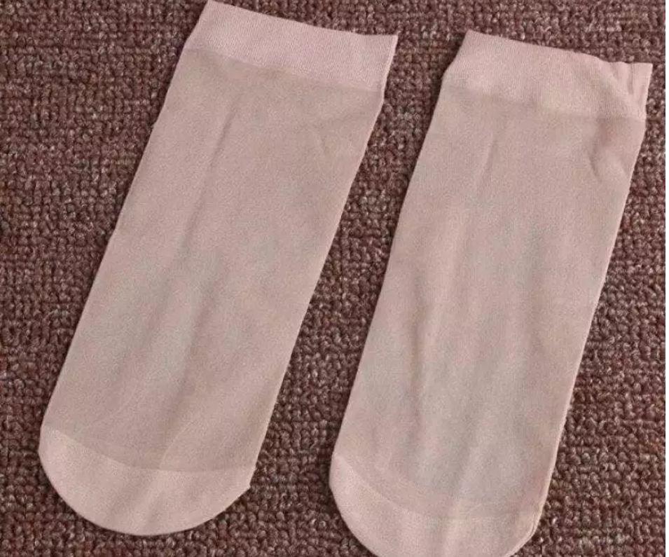 Combo 10 đôi tất da chân nữ loại ngắn loại tốt, mỏng mát, dai khó rách v 3