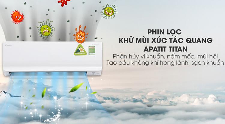Máy Lạnh Inverter Daikin FTKC50UVMV/RKC50UVMV (2.0HP) - Hàng Chính Hãng 3