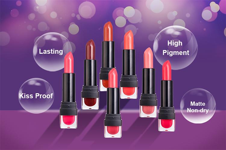3 Pcs Beauty Makeup Matte  Lipstick Long Lasting Liquid Lipsticks Lip Gloss Lip Tint