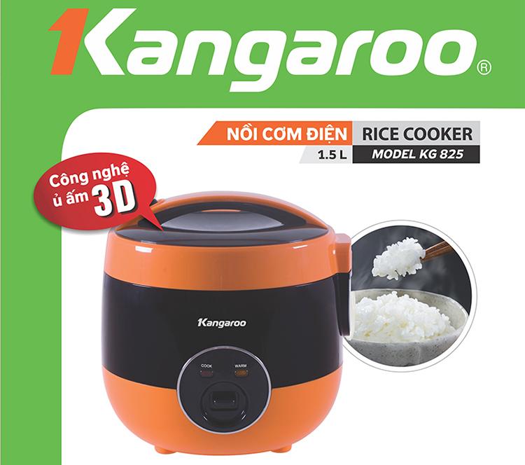 Nồi Cơm Điện 1,5L Kangaroo KG825