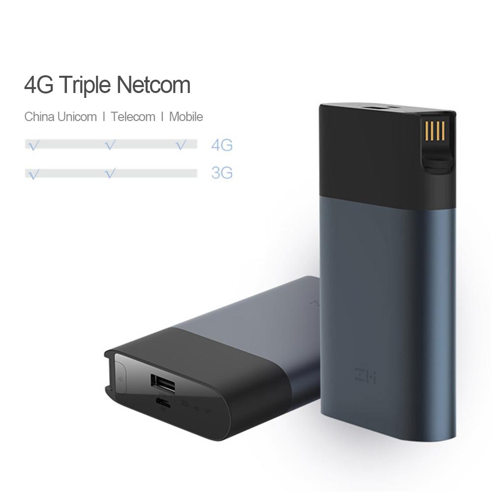 Bộ Định Tuyến Wifi 4G Không Dây Xiaomi Zmi Mf885 Xám Đậm (1000Mah)