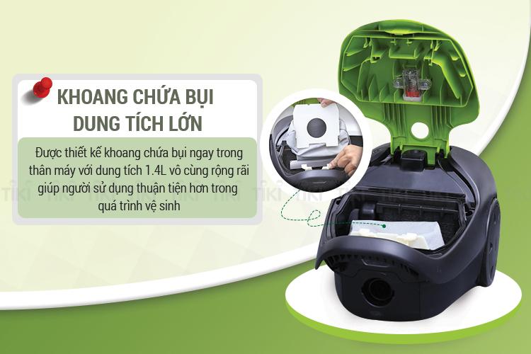 Máy Hút Bụi Panasonic PAHB-MC-CG370GN46 (850W)