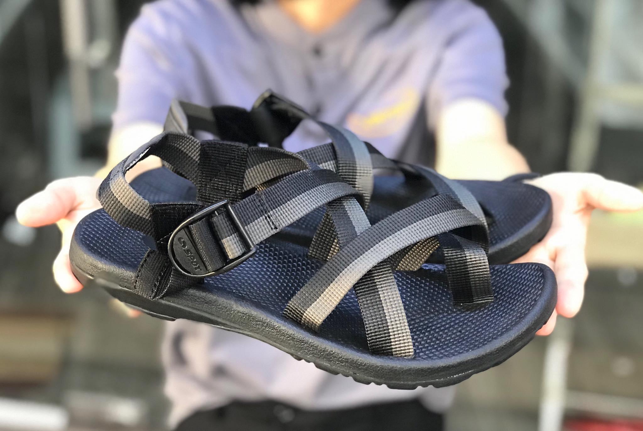 Giày Sandal Nữ Kiểu Xỏ Ngón Đế Cao 1.5cm 2