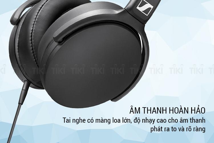 Tai Nghe Có Dây Chụp Tai Over-ear Sennheiser HD 400S - Hàng Chính Hãng
