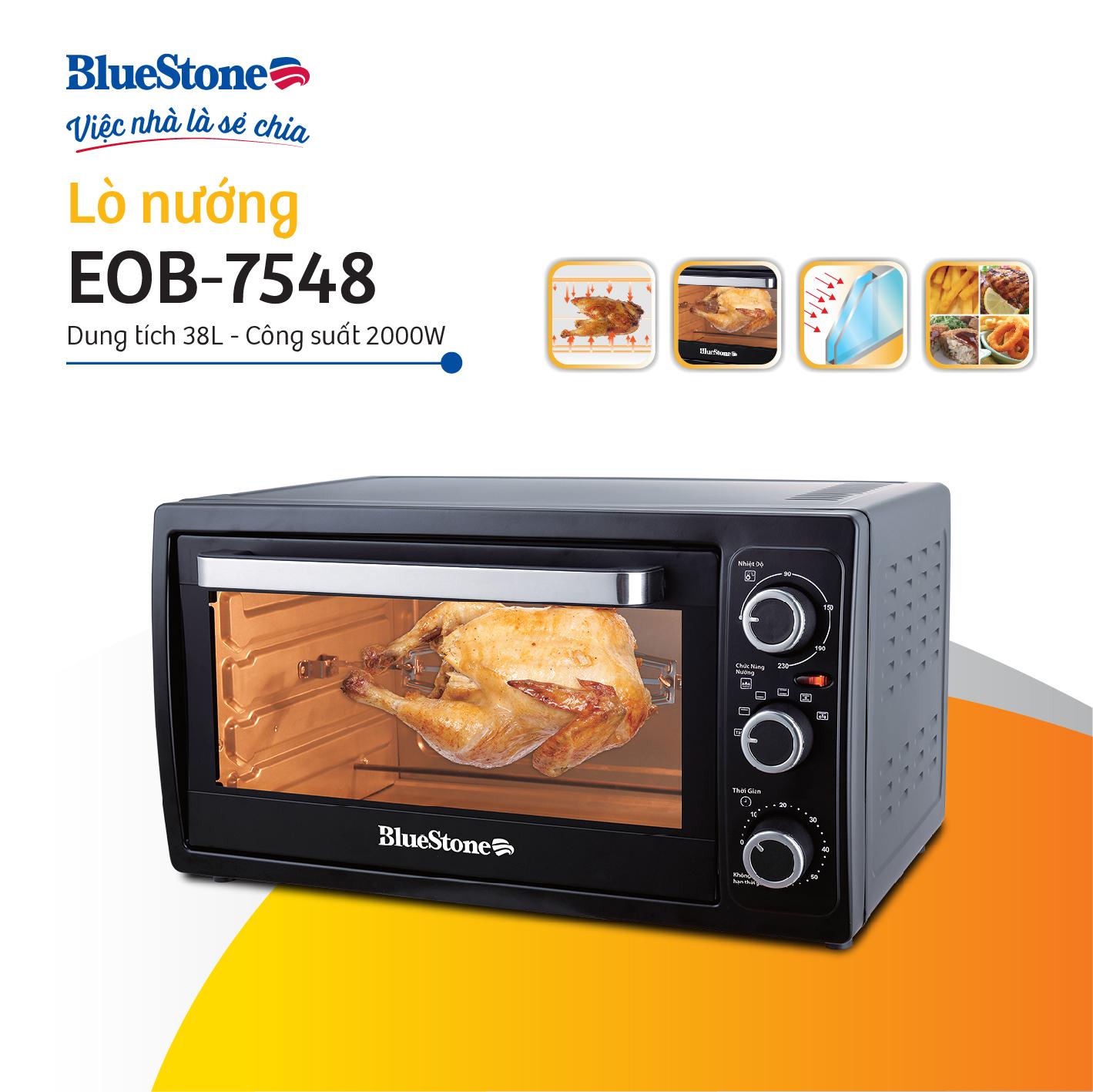 Lò Nướng Bluestone EOB-7548 (38L) - Hàng chính hãng