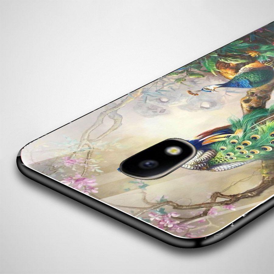 Ốp kính cường lực cho điện thoại Samsung Galaxy J5 - chim công phượng MS CPHUONG032