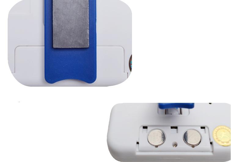 Đồng hồ đếm ngược 4 kênh, dùng pin cúc áo tặng kèm đèn 4 led dán tường , dán ô tô 3