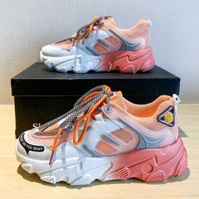 Giày thể thao nữ đế phối 1 2 màu cực chất 1