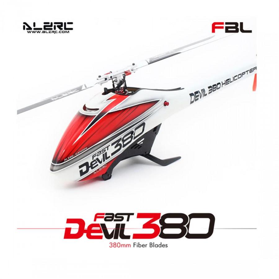 Original Alzrc Devil 380 Fast Drive Fly Free Zone 6 Ch 3 D Helicopter Esc Super Combo Set Mor Servo Gyro
