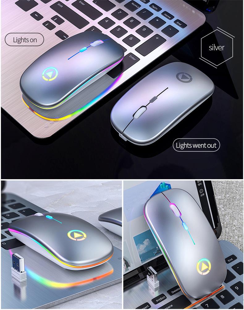 Chuột Wireless Fantech MX Master (Cổng sạc MICRO USB - Có Thể Sạc Lại) - Hàng Chính Hãng VN A 4