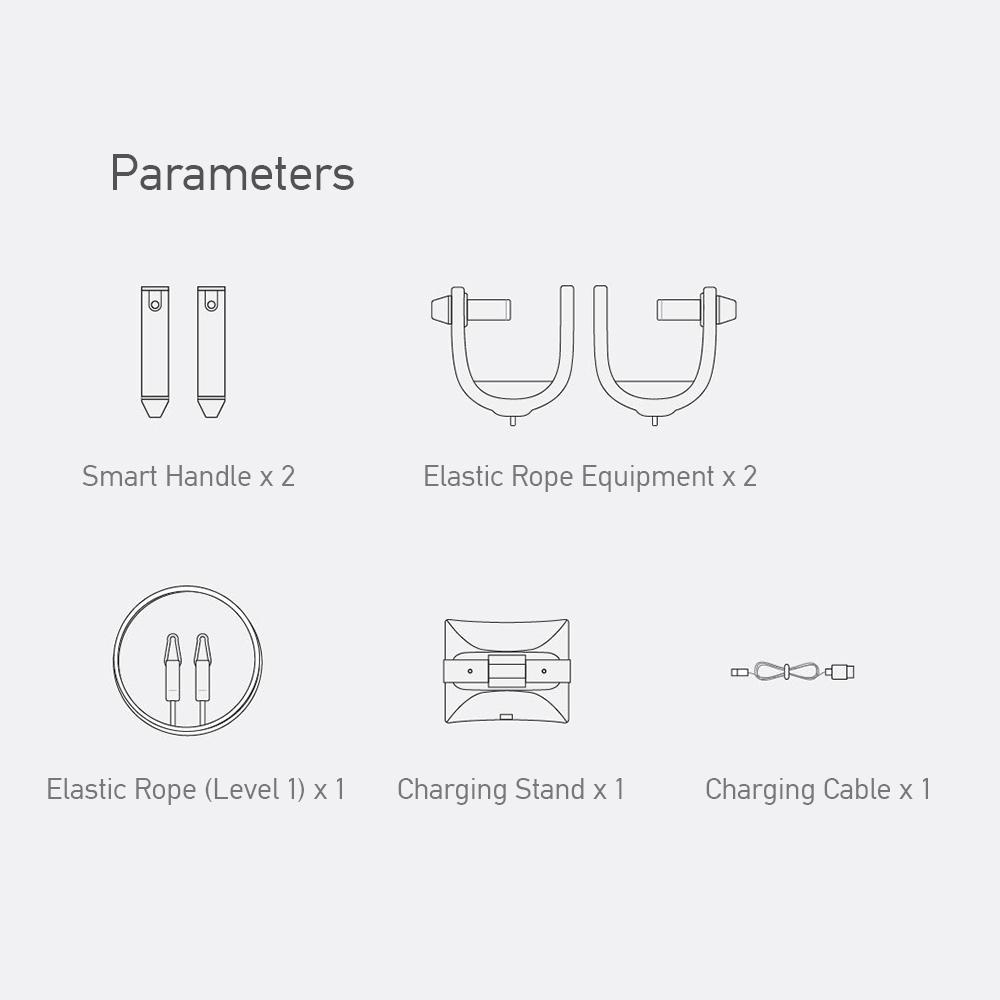 Dây Tập Ngực Giãn Nở Thông Minh Xiaomi Move It