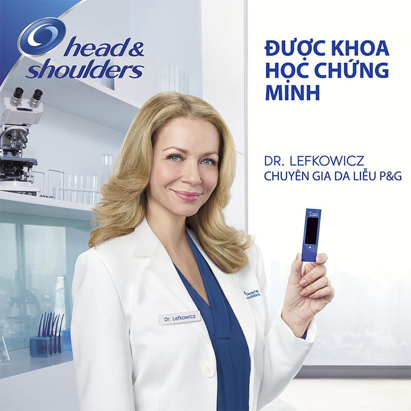 Dầu Gội Head & Shoulders Bạc Hà Mát Rượi (625ml)