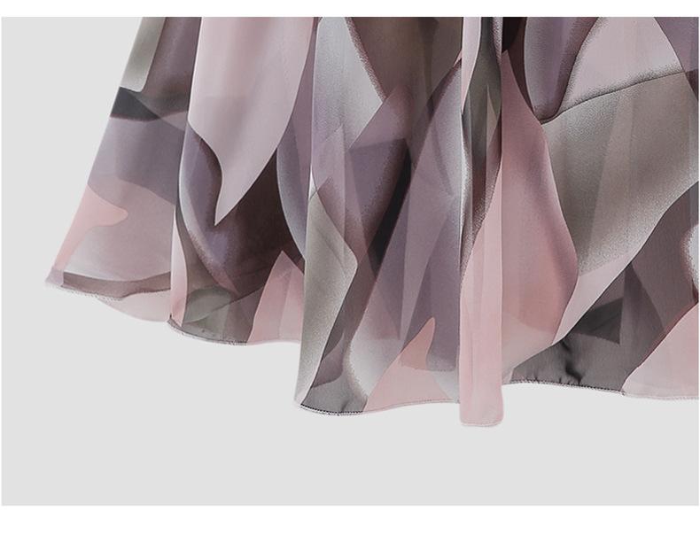 Chân váy voan mềm tung bay phong cách Vintage Châu Âu VAY66 free size 3