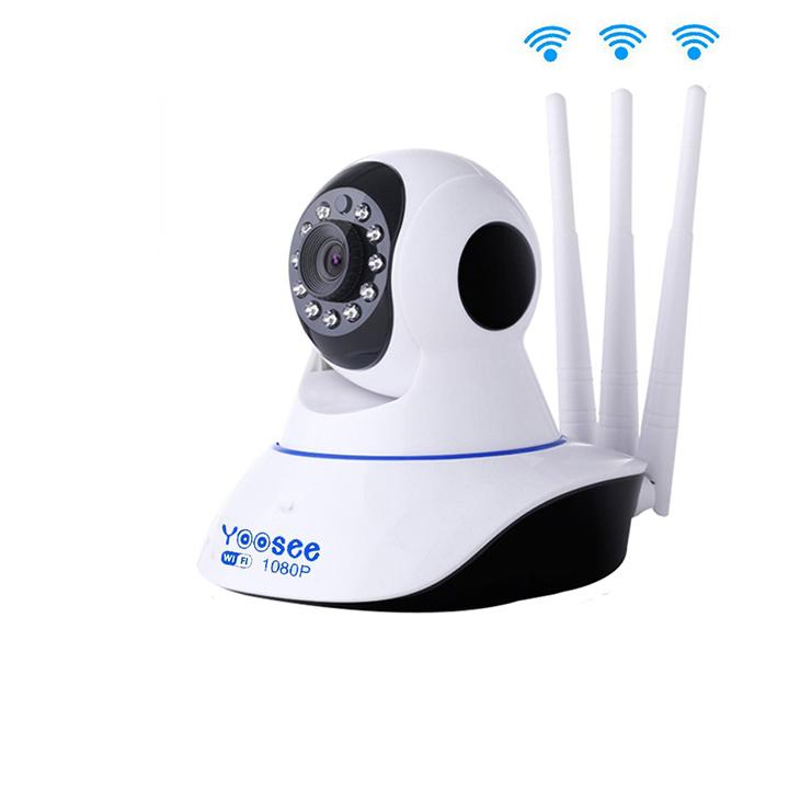 Camera wifi Yoosee chuẩn 3 râu 11 LED Full HD - hàng chính hãng = 780.000đ