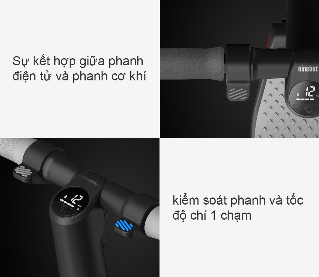 Xe Scooter Ninebot KiskScooter ES1 Cho Người Lớn