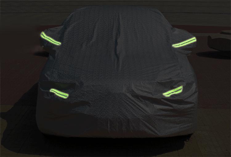 Bạt phủ ô tô cách nhiệt cao cấp, bạt trùm xe hơi, chống nóng, chống nước vân 3D