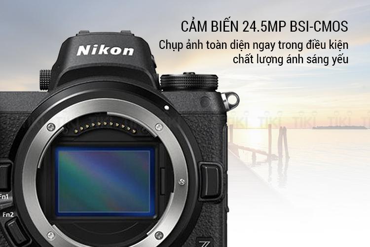 Máy Ảnh Nikon Z6 Body - Hàng Chính hãng - Thẻ nhớ 32GB, túi máy