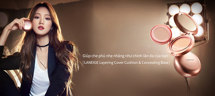 Laneige Layering Cover Cushion No.21