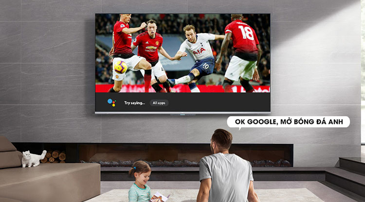 Android Tivi TCL 55 inch L55P715