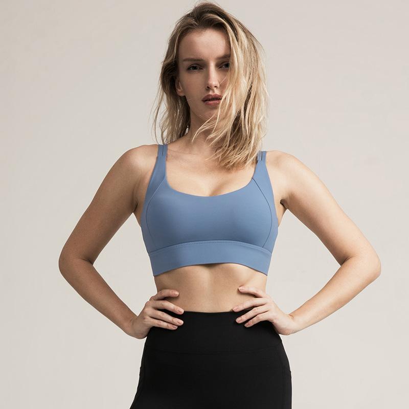 Áo Bra thể thao nữ, áo tập Gym Yoga mềm mịn, có đệm, kiểu áo lót mỏng mã WX-042 8