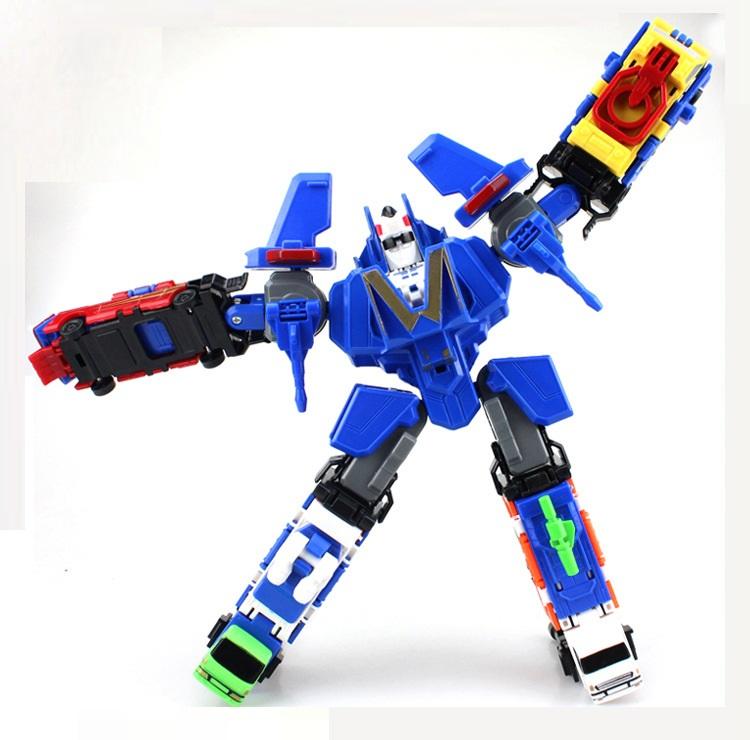 Bộ đồ chơi Robot lắp ghép biến hình cho bé yêu 2