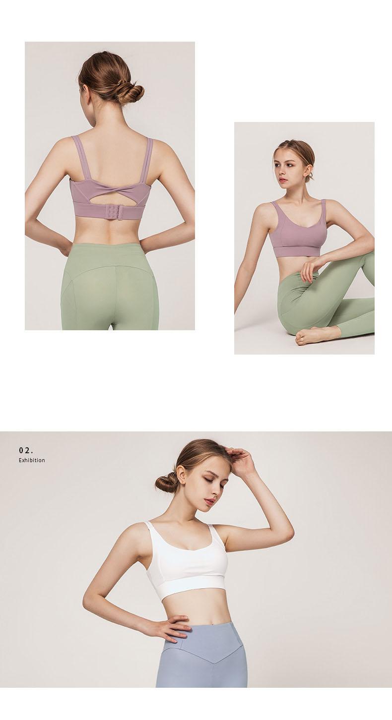 Áo Bra thể thao nữ, áo tập Gym Yoga mềm mịn, có đệm, kiểu áo lót mỏng mã WX-042 3