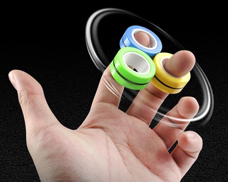 Bộ 6 cái đồ chơi spiner nam châm ( giao màu ngẫu nhiên ) 3