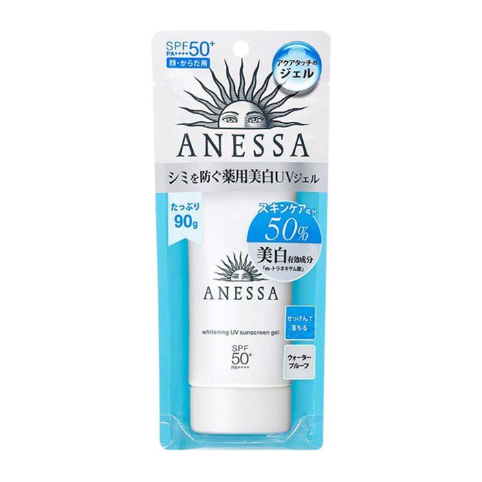 Kem Chống Nắng Anessa Whitening UV Sunscreen Gel Spf 50+ Pa++++ 90g