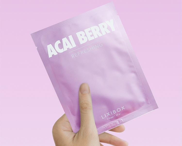 Combo Máy Rửa Mặt Và Mát Xa Da Mặt Cho Da Nhạy Cảm Halio Sensitive + 2 Mặt Nạ Lixibox Green Tea và Acai Berry
