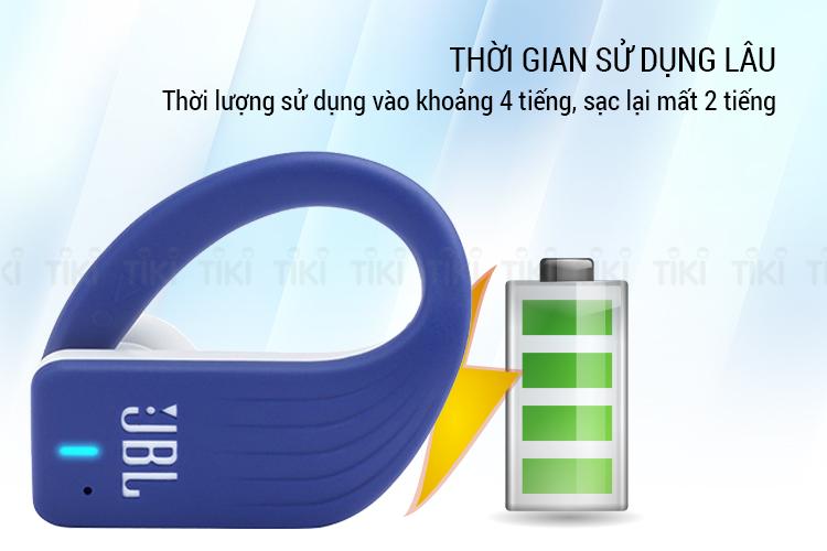 Tai Nghe True Wireless JBL ENDURANCE PEAK - Hàng Chính Hãng